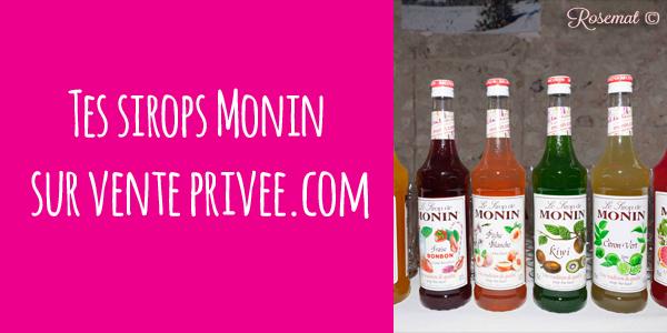 #Bon plan : Les sirops Monin sont de retour !