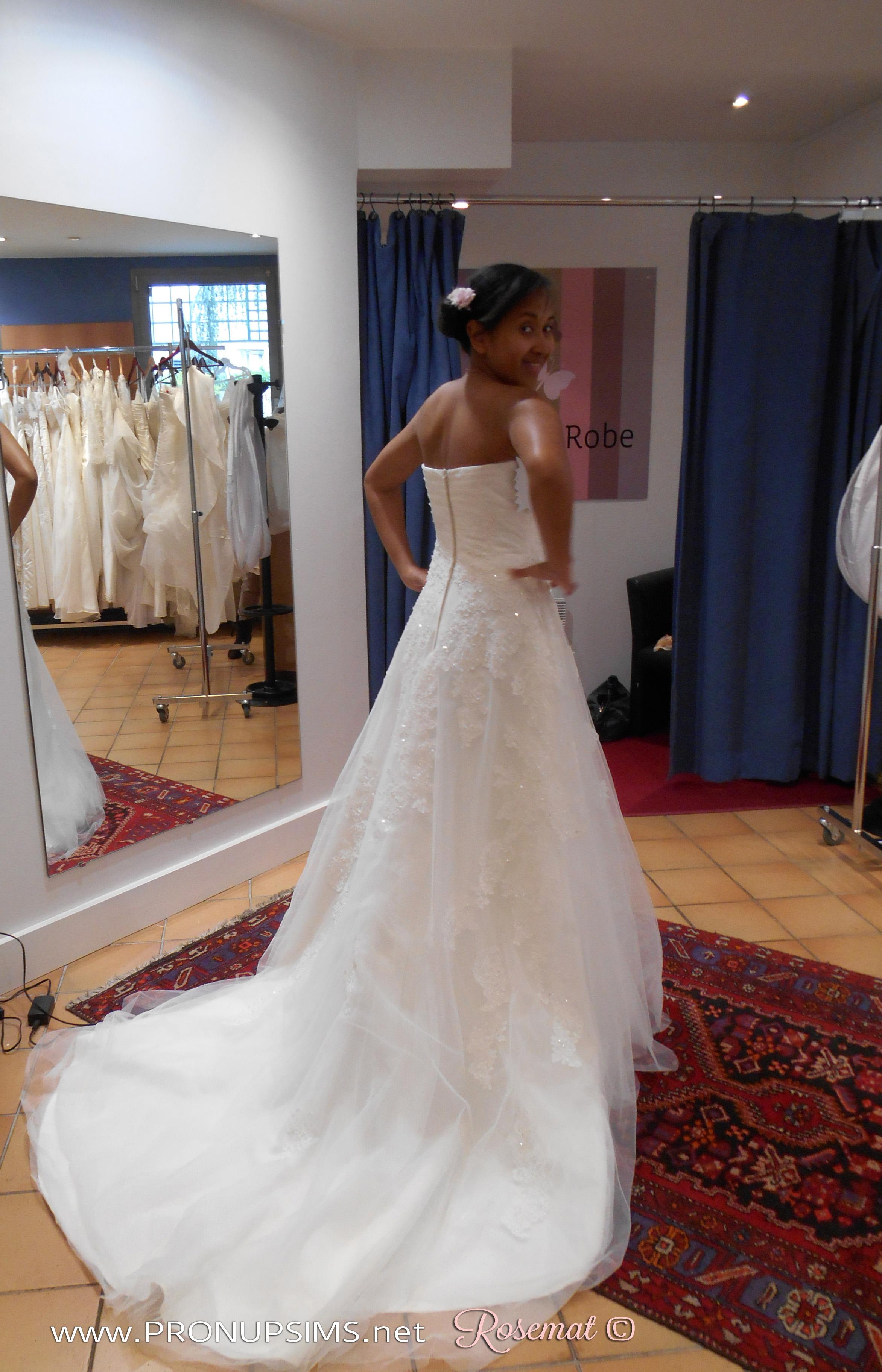 #9 : Mes 1ers essayages laborieux de robes de mariée à 3 mois de grossesse