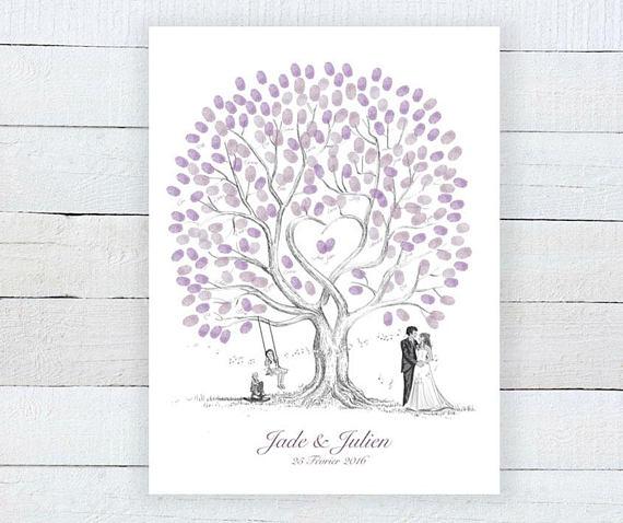 #Inspiration : Mariage fushia et gris