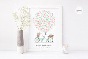 Vélo à empreintes etsy