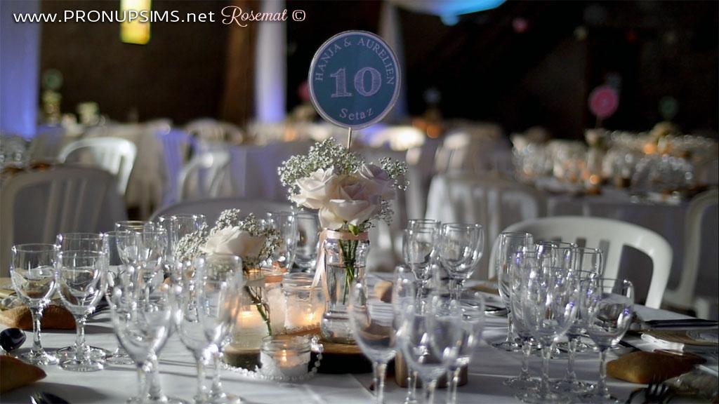 Blog mariage décoration champêtre récup petit budget Zen