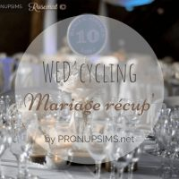 #DIY : Wedcycling ou le mariage Recup'