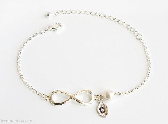 Bracelet infini etsy