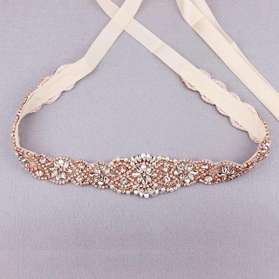 ceinture de robe de mariée etsy