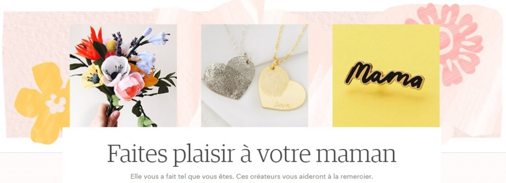 guide shopping fete des meres etsy