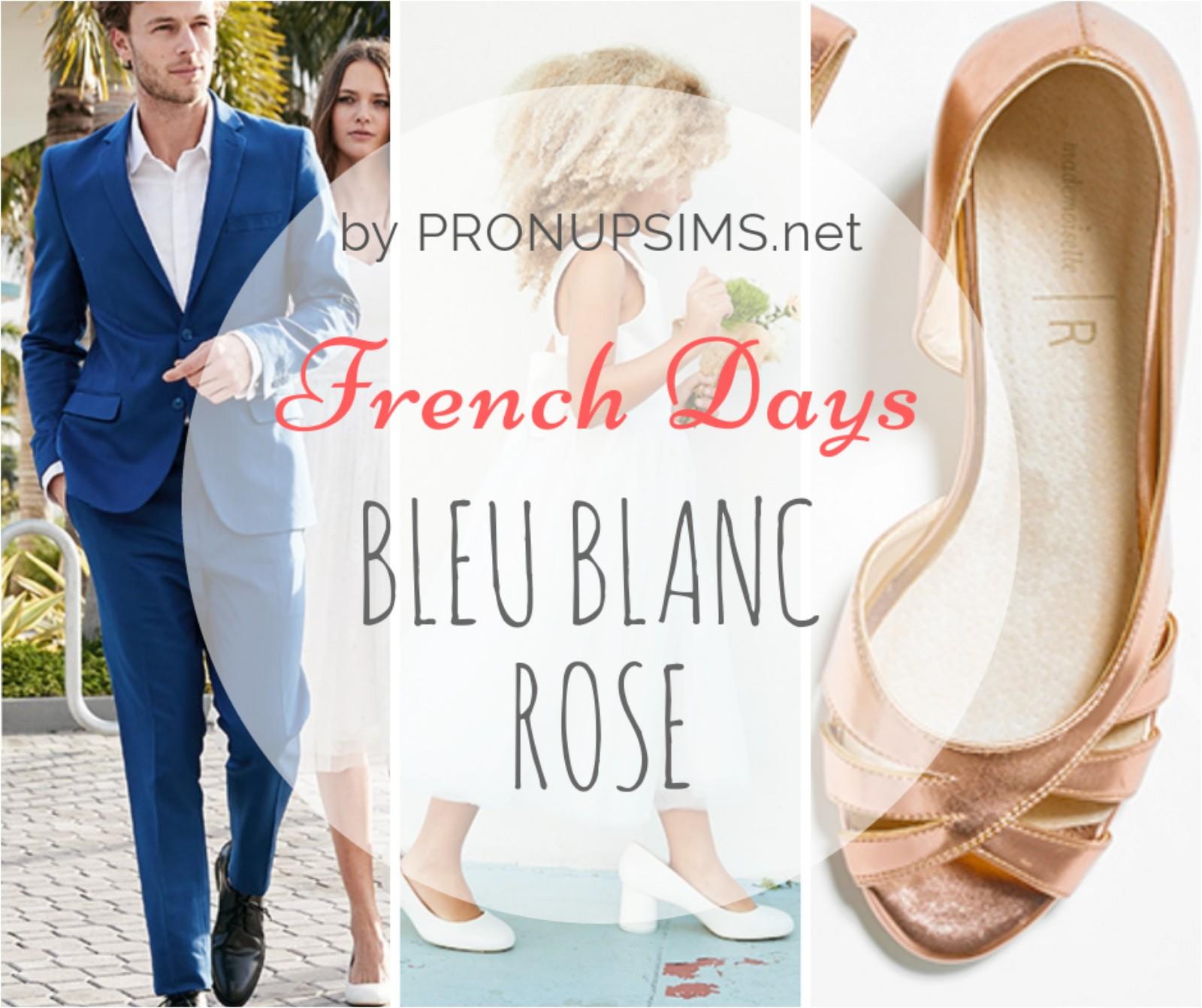 #Mode et beauté : Les French Days en Bleu, blanc… rose !