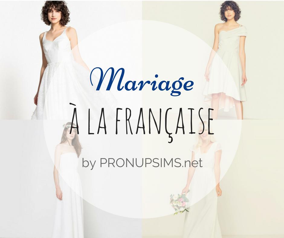 # Mode et beauté :  La mariée à la française