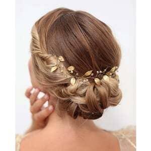 Bijou de cheveux mariage noël atelier sarah aime
