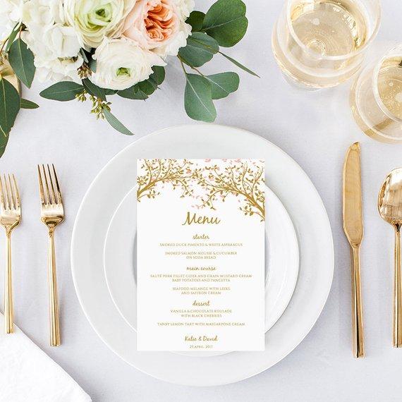 menu diy mariage noël