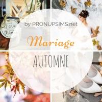#Inspiration : Mariage d'automne