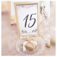 #DIY : Des numéros pour tes tables de mariage