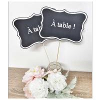#DIY : Le panneau «à table»