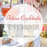 #DIY : 5 idées Cocktails pour ton vin d'honneur