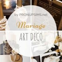 #Inspiration : Mariage Art Deco, Gatsby, années 20-30.