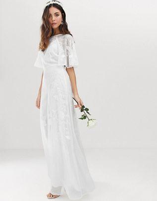 asos robe de mariée bohème