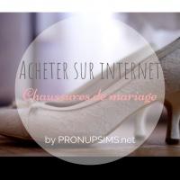 Acheter ses chaussures de mariage sur Internet