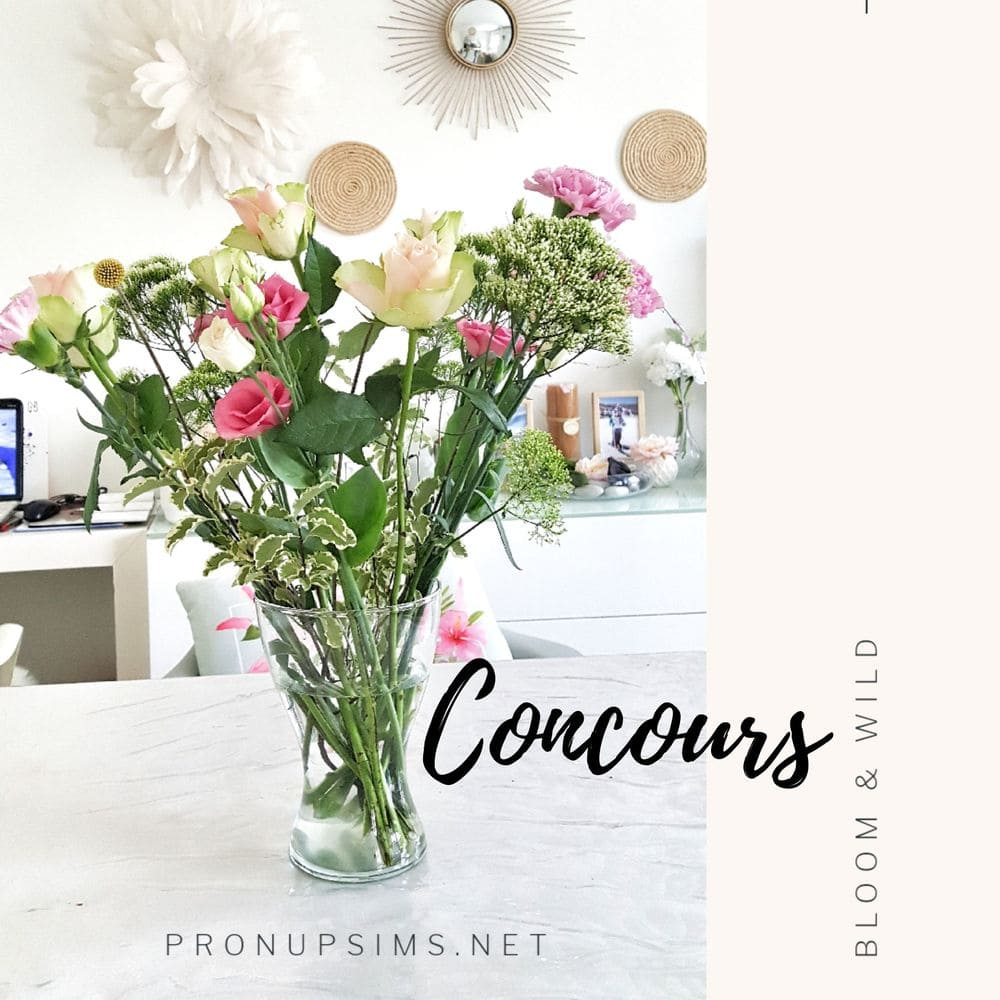 #Concours terminé : Gagne un bouquet de fleurs DIY