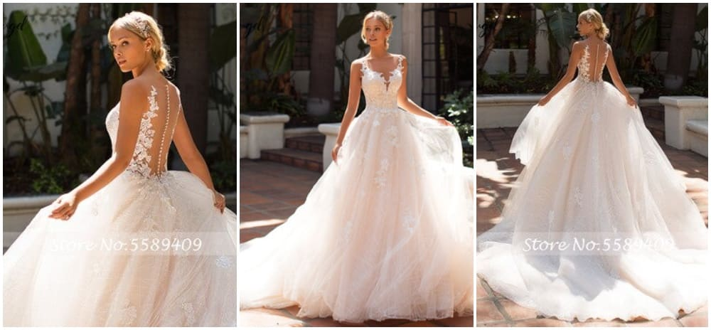 robes de mariée princesse internet petit budget pas cher aliexpress