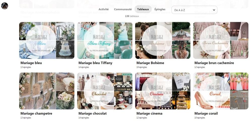 #Inspiration : Utiliser Pinterest pour le mariage