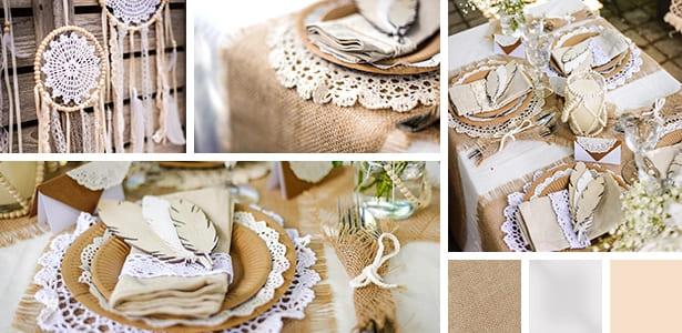 décoration mariage inspiration thème mariage bohème pronupsims
