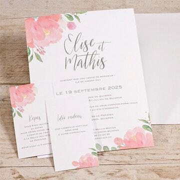 faire-part-mariage-simple-carte-fleurs-roses-aquarelle-été-summer-estival-tadaaz