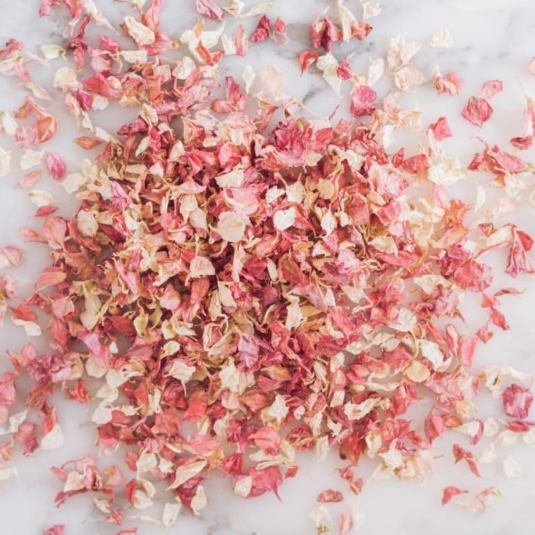 inspiration thème mariage terracotta pronupsims upcycling wedcycling confetti fleurs séchées flowrette