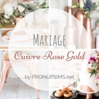 #Inspiration : Mariage Rose Gold Cuivre
