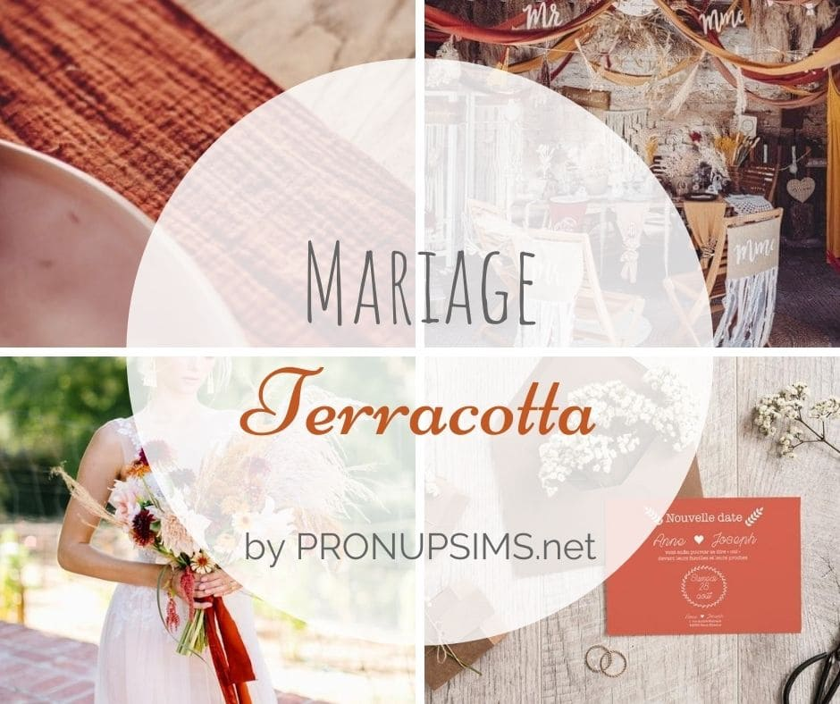 #Inspiration : Mariage terracotta – Spécial Wedcycling