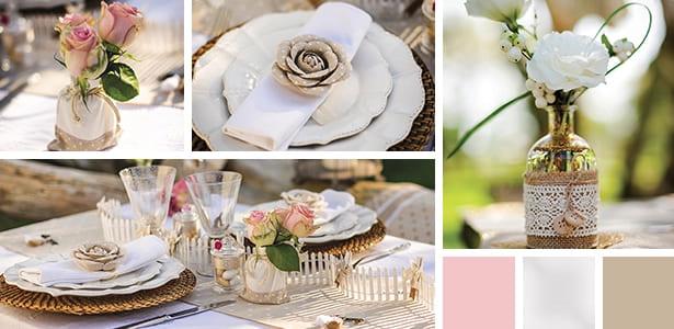 mariage champetre decoration