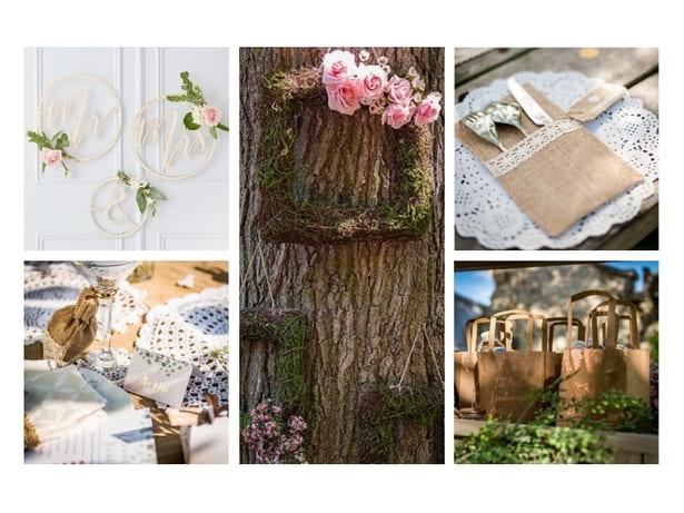 mariage champêtre décorations