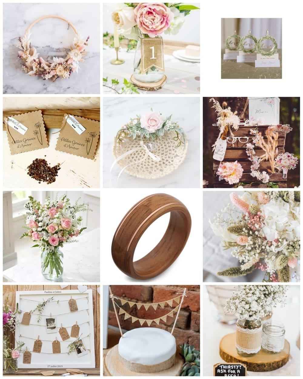 inspiration blog mariage champêtre chic