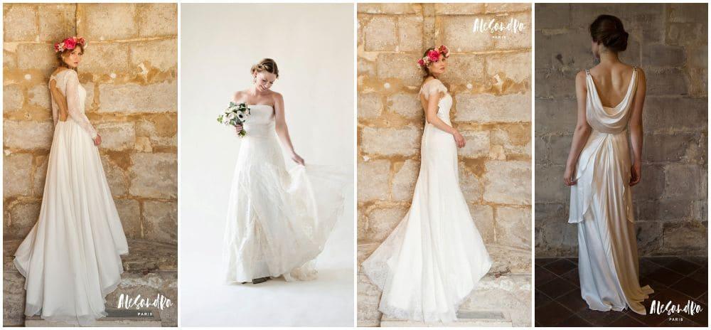 robes de mariée internet petit budget alesandra made in france