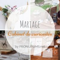 #Inspiration : Mariage Cabinet de curiosités