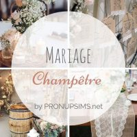 #Inspiration : Mariage champêtre