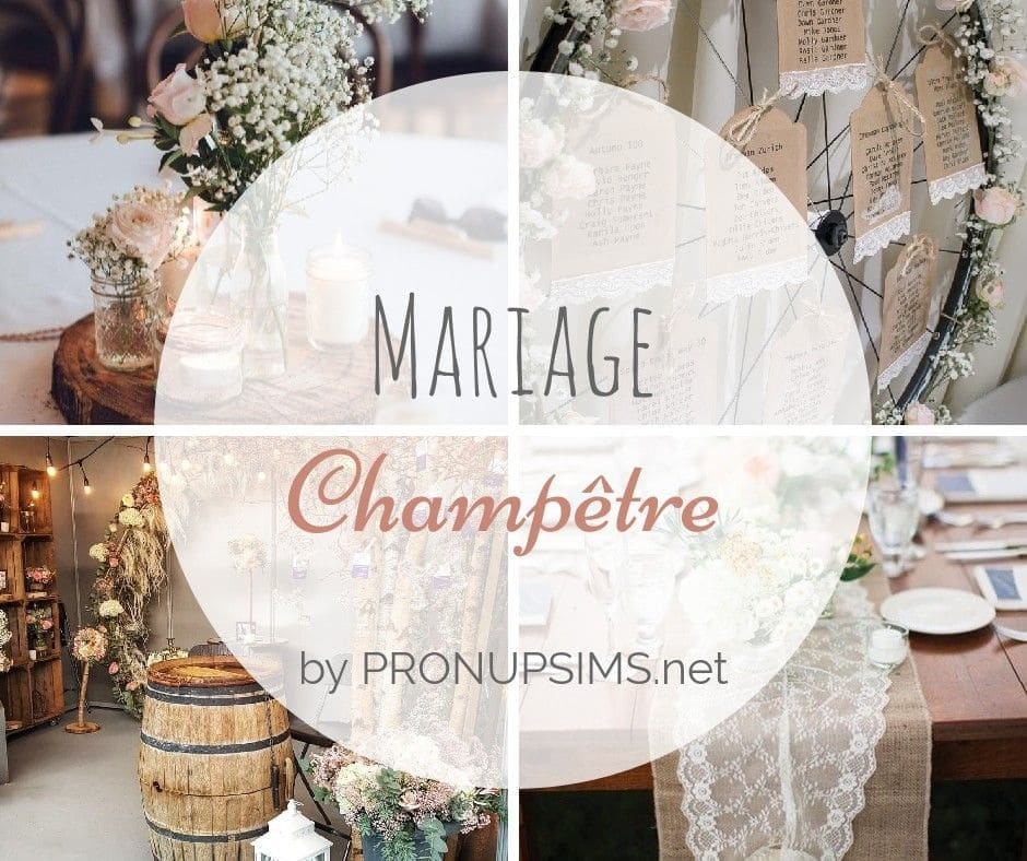 inspiration blog mariage champetre chic