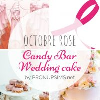 #Octobre rose : Gourmandises roses pour ton mariage