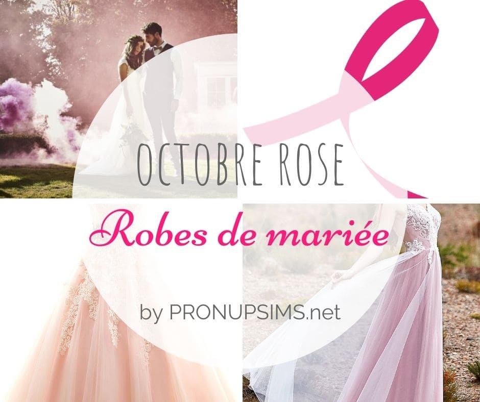 octobre rose robes de mariée pronupsims cancer du sein