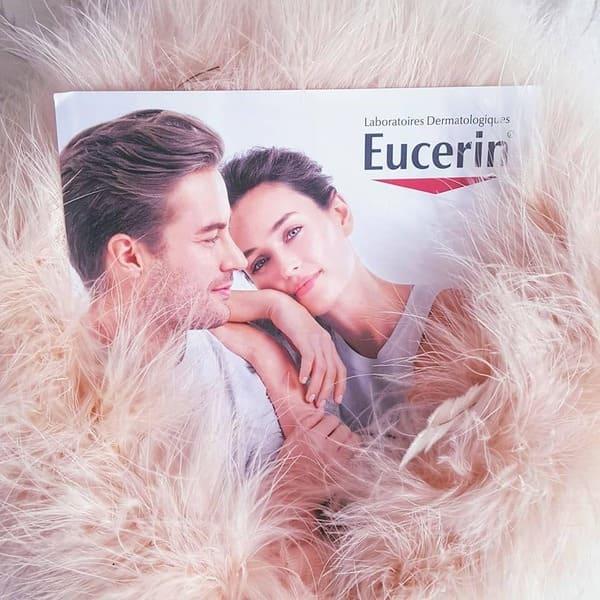 eucerin creme préparer peau mariage