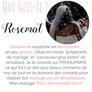 blog mariage conseils blogueuse rosemat pronupsims